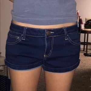 Blue jean shorts!!